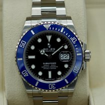 Rolex Submariner Date White gold 41mm Black No numerals United States of America, Massachusetts, Pittsfield