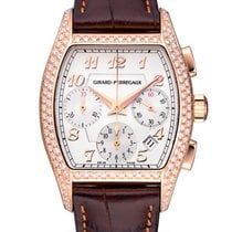 Girard Perregaux Rose gold Automatic Silver 37mm pre-owned Richeville