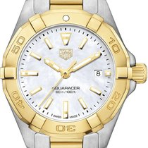 TAG Heuer Aquaracer Lady Gold/Steel 27mm Mother of pearl United States of America, New York, Airmont