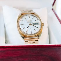 Omega Constellation Day-Date Gold/Steel 35mm Silver No numerals United States of America, Virginia, hampton