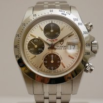 Tudor Tiger Prince Date Steel 40mm Silver