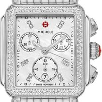 Michele Deco Steel 33mm Mother of pearl United States of America, California, Moorpark