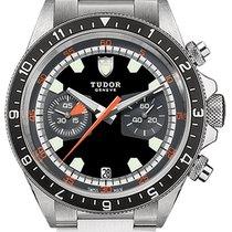 Tudor Heritage Chrono new Automatic Chronograph Watch with original box M70330N-0002