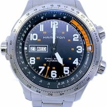 Hamilton Khaki X-Wind Steel 45mm Black Arabic numerals United States of America, Florida