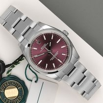 Rolex Oyster Perpetual 34 Otel 36mm Violet