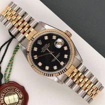 Rolex Datejust 16233 Πολύ καλό Χρυσός / Ατσάλι 36mm Αυτόματη
