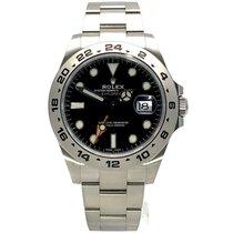 Rolex neu Automatik Zentralsekunde Leuchtzeiger Chronometer Verschraubte Krone Leuchtindizes 42mm Stahl Saphirglas