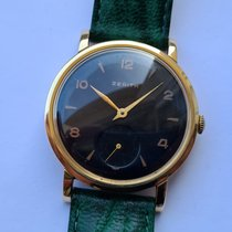 Zenith Yellow gold 36mm Manual winding pre-owned