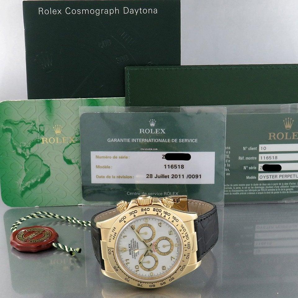 Rolex Daytona 116518 2007 подержанные