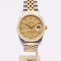 Rolex Datejust Gold/Steel 36mm Gold No numerals United Kingdom, London