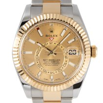 Rolex Sky-Dweller 326933 Very good Gold/Steel 42mm Automatic