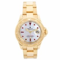 Rolex Yellow gold Automatic Mother of pearl 40mm pre-owned Yacht-Master