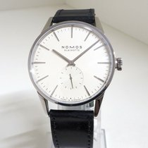NOMOS Zürich pre-owned 40mm White Leather