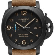 Panerai Luminor 1950 3 Days GMT Automatic new 2021 Automatic Watch with original box and original papers PAM 01441