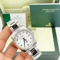 Rolex Oyster Perpetual Date Steel 34mm White UAE, Abu Dhabi