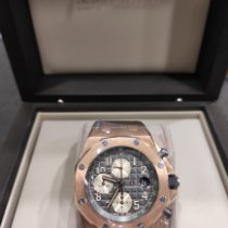 Audemars Piguet Royal Oak Offshore Chronograph Pозовое золото 42mm Черный Aрабские