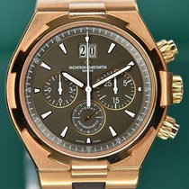 Vacheron Constantin Overseas Chronograph Rose gold 42mm Brown No numerals