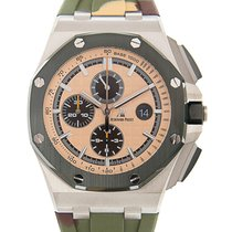 Audemars Piguet Royal Oak Offshore Chronograph Сталь 44mm Цвета шампань Без цифр