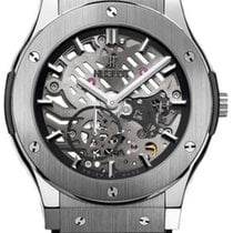 Hublot Classic Fusion Ultra-Thin Titan 45mm Transparent Keine Ziffern