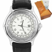 Ebel Voyager White gold 38mm White Roman numerals United States of America, New York, Lynbrook