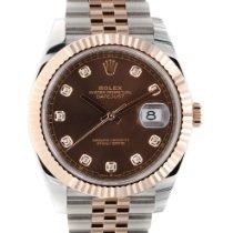 Rolex Datejust II neu 2021 Automatik Uhr mit Original-Box und Original-Papieren 126331