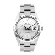 Rolex Oyster Perpetual Date Steel 34mm Silver No numerals United Kingdom, Harrogate