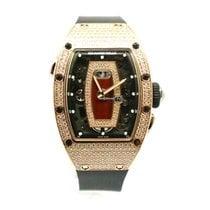 Richard Mille RM 07 Pозовое золото 45.66mm Прозрачный Без цифр