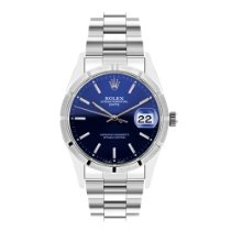 Rolex Oyster Perpetual Date Steel 34mm Blue No numerals United Kingdom, Harrogate