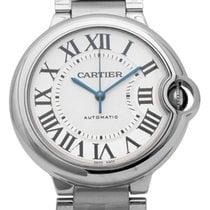 Cartier Ballon Bleu 36mm neu 2018 Automatik Uhr mit Original-Box und Original-Papieren W6920046 3284