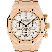 Audemars Piguet Royal Oak Chronograph Rose gold 41mm White No numerals United Kingdom, London