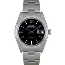 Rolex Air King Date Acciaio 34mm Nero