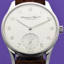 IWC Platinum Manual winding Silver Arabic numerals 42mm new Portuguese Hand-Wound