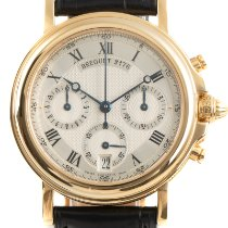 Breguet Marine Yellow gold 35mm Silver