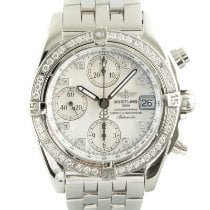 Breitling Chrono Cockpit Steel 39mm Mother of pearl