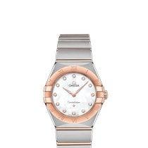 Omega Constellation new 2021 Quartz Watch with original box and original papers 131.20.28.60.55.001