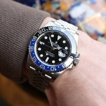 Rolex 126710BLNR-0002 Steel 2020 GMT-Master II 40mm pre-owned