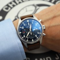 IWC Pilot Chronograph Very good Steel 43mm Automatic United States of America, New York, NYC