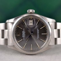 Rolex Oyster Perpetual Date 1500 Sehr gut Stahl 34mm Automatik