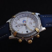 Breitling Duograph Steel 39mm White