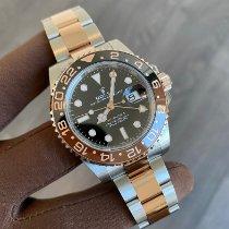 Rolex GMT-Master II Gold/Steel 40mm Black No numerals Canada, North Vancouver