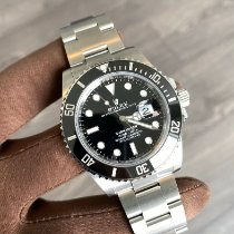 Rolex Submariner Date Steel 41mm Black No numerals Canada, North Vancouver