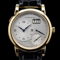 A. Lange & Söhne Lange 1 Yellow gold 38.5mm Roman numerals United States of America, Massachusetts, Boston