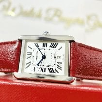 Cartier Tank Solo Steel 31mm Silver Roman numerals United States of America, California, Pasadena