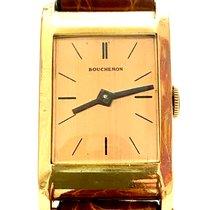 Boucheron Reflet Желтое золото 30mm Золото Без цифр