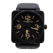 Bell & Ross BR 01-92 Ceramic 46mm Black No numerals United States of America, New York, New York
