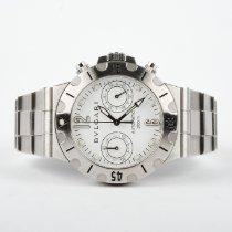 Bulgari Diagono Steel 38mm White Arabic numerals United States of America, Texas, Dallas