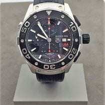 TAG Heuer Aquaracer 500M Steel 43mm Black No numerals United States of America, Texas, Houston