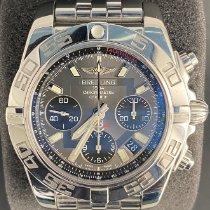 Breitling Chronomat 41 Сталь 41mm Cерый Без цифр