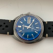 Seiko pre-owned Automatic 37mm Blue Plastic Not water resistant