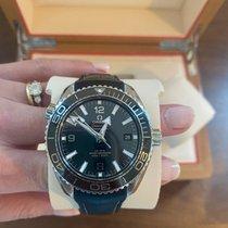 Omega Seamaster Planet Ocean Steel 43.5mm Black Arabic numerals United States of America, New York, Brooklyn